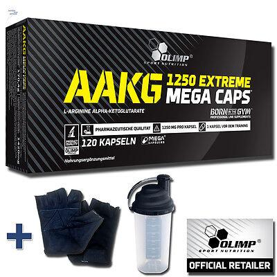 Olimp 120 Caps AAKG EXTREME Mega Caps L-Arginin pre workout Arginin Kapseln