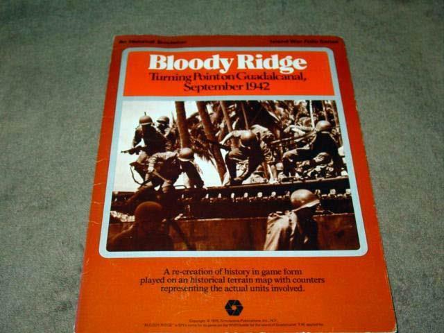SPI 1975 - Strategy  & Tactics Folio Series - BLOODY RIDGE (Pacific War WW2) RARE  migliore marca