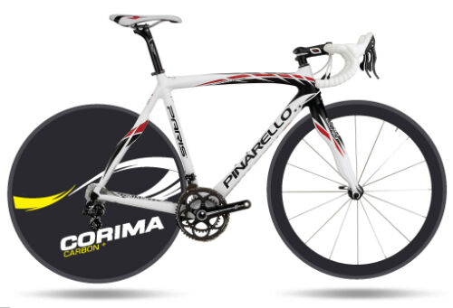 Corima Carbon Plus Disc Wheel Decals Stickers Carbon bike bicycle velo disque