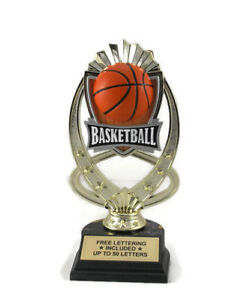 Details about Basketball Trophy- MVP- Coach- Hoop Shoot- Team- Desktop  Series- Free Lettering