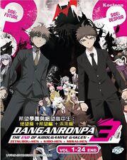 DVD Japan Anime DANGANRONPA 3 The End of Kibougamine Gakuen (1-24) English Sub