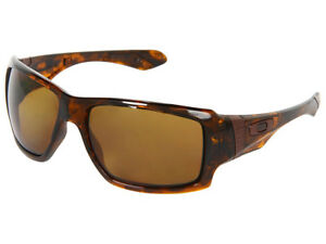 2b6845f311 Oakley Big Taco Polarized Sunglasses OO9173-05 Brown Tortoise Bronze ...