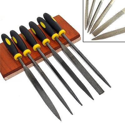6pcs Metal File Mini Assorted Rasp Diamond Needle File set Repair Tool Set