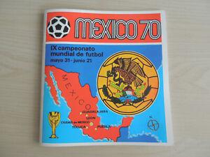 MEXICO-70-ALBUM-CALCIATORI-PANINI-EDIZIONE-INTERNAZIONALE-VUOTO-ANASTATICO