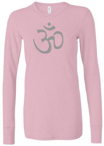 Womens Long Sleeve AUM Thermal Tee Shirt