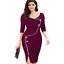 New-Fashion-Women-Back-Zipper-Formal-Office-Ladies-Wear-To-Work-Pencil-Dresses thumbnail 16