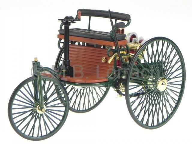 Mercedes Benz Daimler Patent Motorwagen diecast model car 183701 Norev 1 18