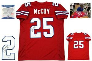 Details about Lesean McCoy Autographed SIGNED Jersey - Beckett Authentic - Color Rush
