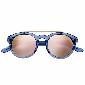 dce70703ab Bertha Ava Blue Polarized Rose Gold Lens Women s Sunglasses BR011B ...