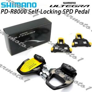 Shimano Ultegra PD-R8000 Carbon Fiber Road Bike Pedal with SM-SH11 Cleats CMT