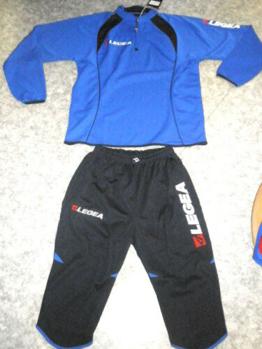 Vento Pinocchietto Trainingsanzug m.3/4 Hose , azur / blau  , Gr. S + XL
