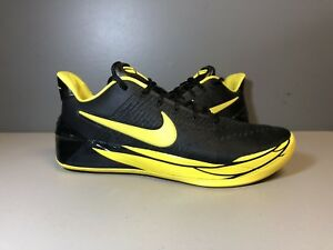 outlet store c7a13 62d48 Image is loading NIKE-KOBE-AD-OREGON-DUCKS-BLACK-YELLOW-922026-