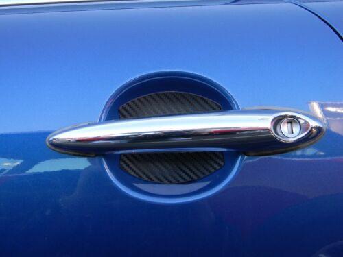 Carbon Fiber Car Door Handle Scratch Protector Guard Trim Fits Mazda 6 New 2 pcs