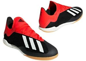 Adidas-X-18-3-IN-BB9391-Noir-Chaussures-De-Football-Homme-Confortable