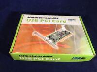 Brand Usb 1.0 & 1.1 Pci Card