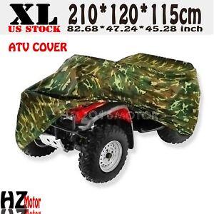 XL Waterproof Quad Bike Silver ATV Cover for Polaris Sportsman 500 600 700