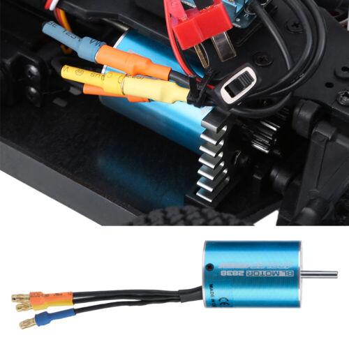 4700KV 55A CNC sans moteur du capteur 6061 T6 pour toutes les RC voitures 1//10