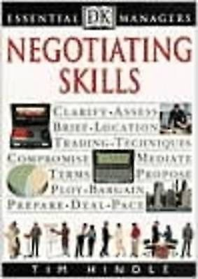 1 of 1 - Negotiating Skills (Essential Managers), Hindle, Tim, Good Book