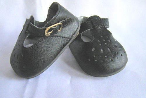 Reborn Doll Girls Fancy High Tops  Black Shoes Size 85 MM ~ REBORN DOLL SUPPLIES