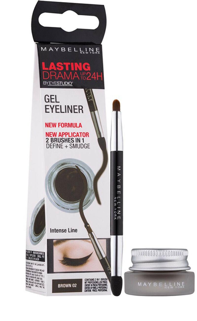 Maybelline New York Lasting Drama Gel Eyeliner 01 Black For Sale Online Ebay
