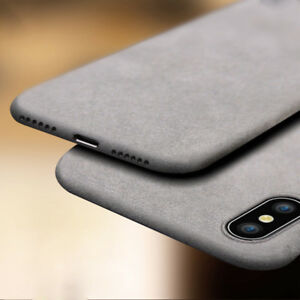 For-iPhone-XS-Max-XR-Shockproof-Thin-Soft-TPU-Sandstone-Matte-Back-Case-Cover