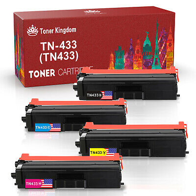 L8360CDWT; MFC L8610CDW Print.After.Print Compatible Toner Replacement for Brother TN433Y L8900CDWHigh Yield Works with: HL L8260CDW L8360CDW Yellow
