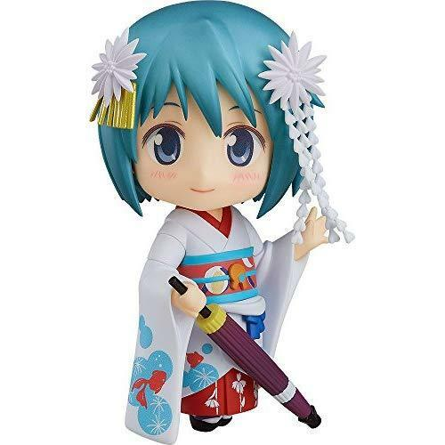 Nendoroid 797 Madoka Magica Sayaka Miki Maiko Ver. Figure Japan New GOOD SMILE