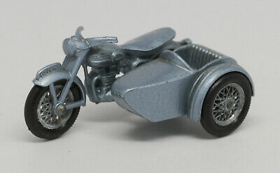 Matchbox Lesney No 4 TRIUMPH MOTORCYCLE /& SIDECAR empty Repro D style Box