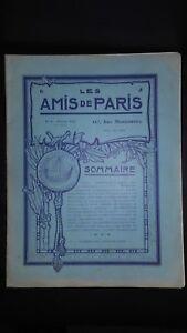Rivista per Lettera I Amis Di Parigi N° 8 Mese 1912 Manager Claude Simond ABE