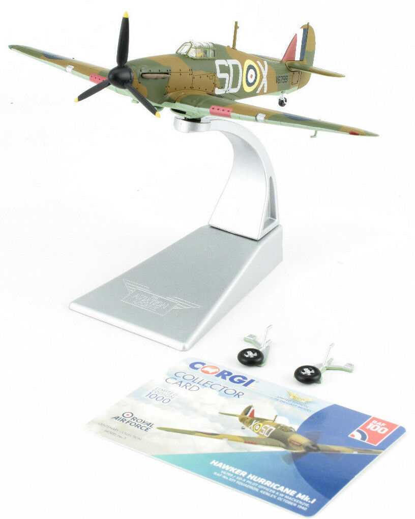 Corgi Hawker Hurricane Mk.I - October 1940 1 72 Die-Cast Airplane AA27607