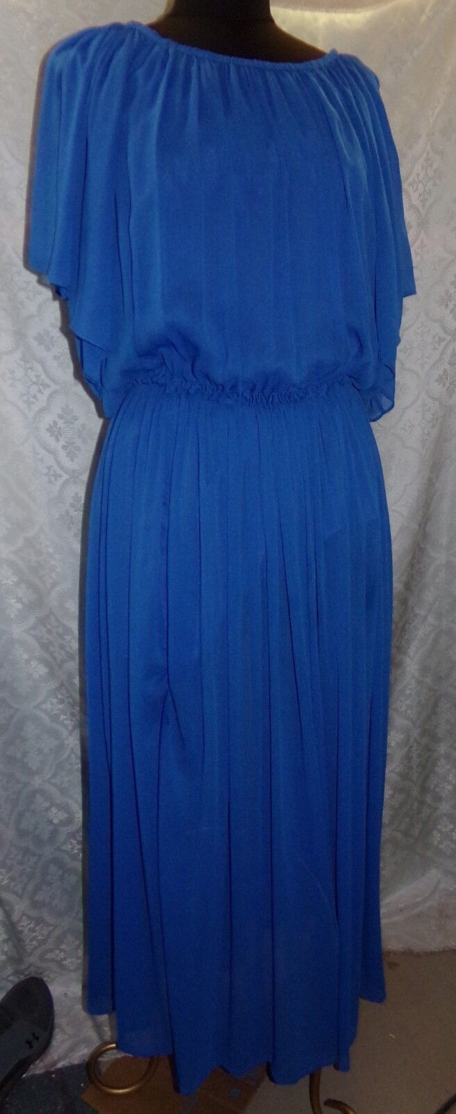 The Wallflower Maxi Dress XS Womens bluee Flowy Flowing