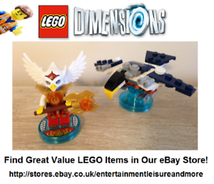 Genuine-LEGO-Dimensions-Chima-Eris-Fun-71232-Pack-Trusted-eBay-Seller