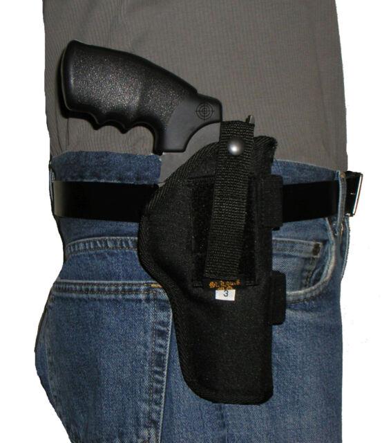 "Belt Pistol Holster Fits The Taurus Judge 3/"" Barrel"