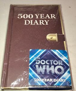 Doctor-Who-500-Year-Diary-New-Sealed-8-034-x-5-034-Full-Size-Journal-New-in-Stock