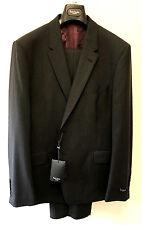 """Paul Smith CHARCOAL GREY Suit LONDON FLORAL Slim Fit UK44R Chest 44"""" Waist 37"""""""