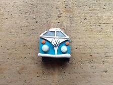 Camper Van Badge Split Screen Bug Bus Handmade Clay Pick Colour Cute Gift