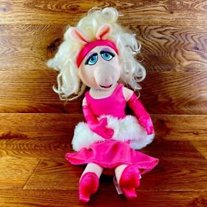 Disney-Store-Miss-Piggy-Large-20-034-The-Muppets-Soft-Toy-Stuffed-Teddy-Childrens