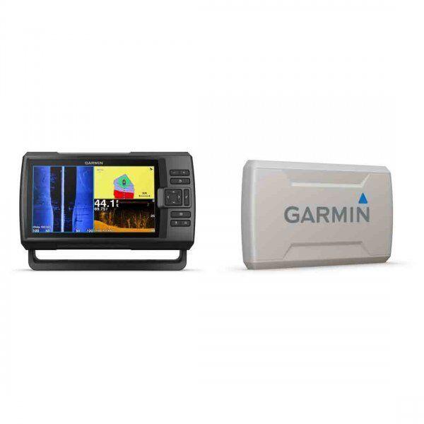 Garmin Striker Plus 9sv con transductor CV52HW-TM y paquete de Cubierta Projoectora