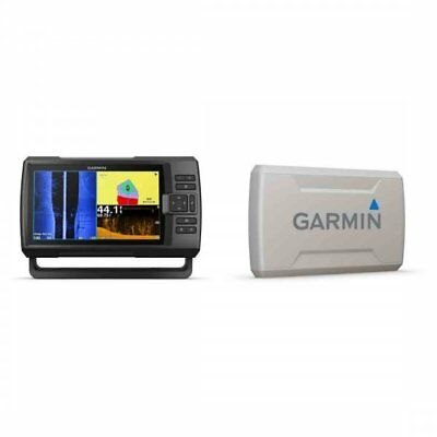 Garmin STRIKER Plus 9sv with CV52HW-TM Transducer and Protective Cover Bundle