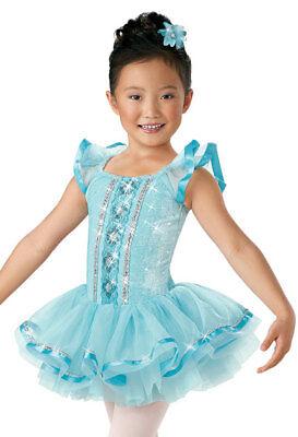"""NEW Weissman /""""Que Sera Sera/"""" Dance Costume Skate Dress 6141 Child"""