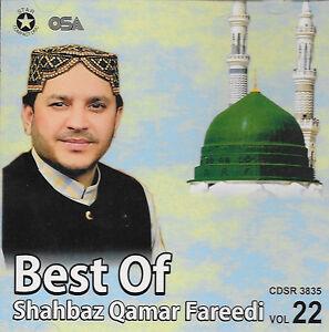 Details about BEST OF SHAHBAZ QAMAR FAREEDI - VOL 22 - NEW NAAT CD