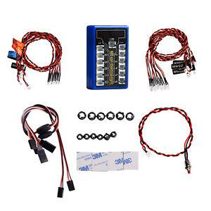 12-led-linternas-para-HSP-Tamiya-cc01-4wd-axial-scx10-1-10-1-8-RC-Drift-Car