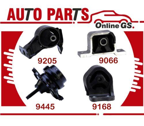 Eng Motor /& Trans Mount Set 4PCS for Honda Element /& CR-V 2.4L 2002-2011 f// Auto