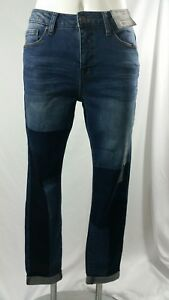 grey la Ruff Jean à bride avec taille cheville moyenne Hewn taille skinny 8 Z74SBq6gZ