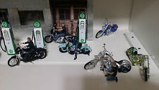 American Diorama 1:18 Biker Set.  Will fit on a motorcycle