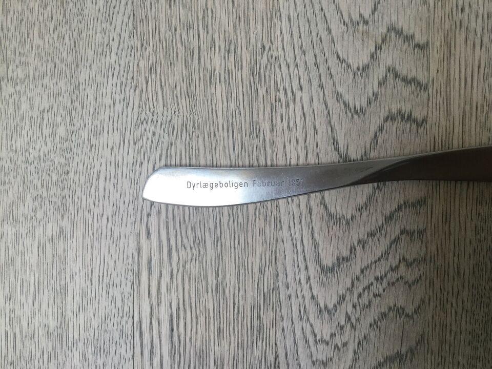 Rustfrit stål, Papirkniv/brevkniv/brevopsprætter
