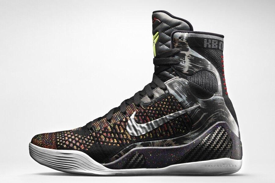 Nike Kobe 9 IX Elite Masterpiece Size 12. 630847-001. black htm what the bhm x