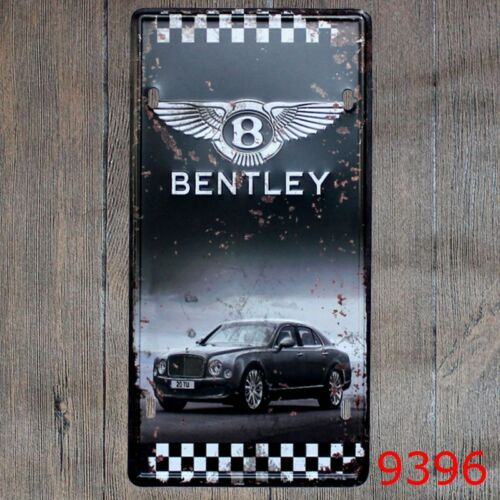 Metal Tin Sign bentley Decor Bar Pub Home Vintage Retro Poster Cafe ART