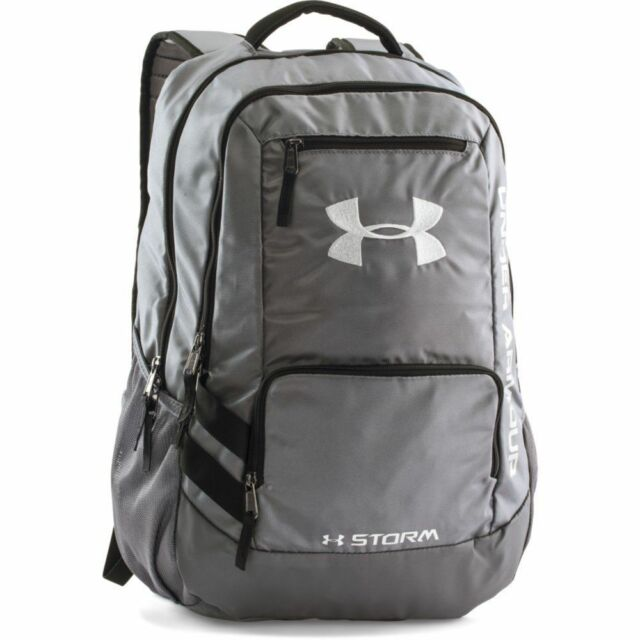 8dd7971b630c Under Armour Unisex Team Hustle Backpack Graphite 1272782 040 for ...
