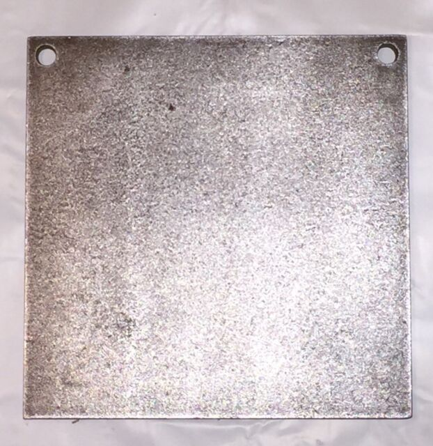 """AR500 Steel Square Target Gong 4""""X 3//8"""" Blemish"""